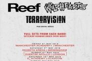 Reef / The Wildhearts / Terrorvision UK Tour